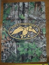 2x Duck Commander Garden Flag Realtree Camo Duck Dynasty 18x12.75in Gift Hunting