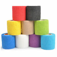 Sports Self Adhesive Athletic Support Elastic Bandage Strap Tape First Aid Wrap