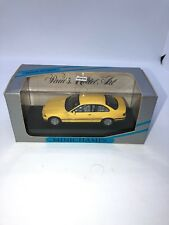 1:43 Minichamps BMW 3 Series Coupe Yellow Paul's Model Art New In Box 430 023321