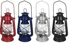 Ornamental Battery LED Gas Style Lantern Light 16 Led Metal Dimmable Hurricane