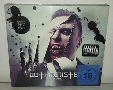 CD + DVD GOTHMINISTER - UTOPIA - NUOVO NEW