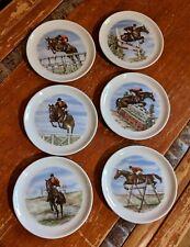 Vintage Johann Seltman Grand Prix Jumper Coasters/set 6