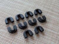 10x Kühlergrill Querträger Gitterklemme Clips für VW Transporter T4 701805163