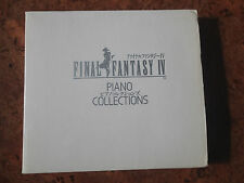 FINAL FANTASY IV PIANO COLLECTIONS W/CD PIANO SCORE MUSIC SHEET 1999 EVER ANIME