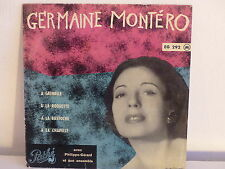 GERMAINE MONTERO A grenelle ... EG 292
