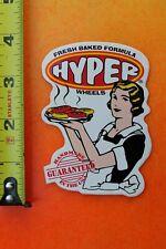 Hyper Wheels Usa Freshly Baked Sexy Blonde Fresh Vintage Inline Skating Sticker
