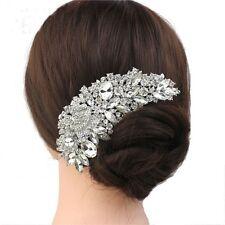 Accessoires pour cheveux mariage charmant nouveaux généreux beau Crystal noble