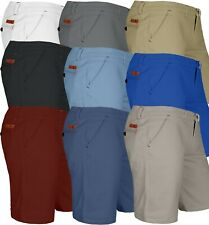 New Mens Chino Shorts Stretch Summer Cotton Cargo Combat Casual Half Pant