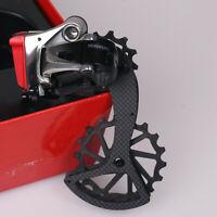 J&L Ceramic&Carbon Oversized Derailleur Pulley Wheel(OSPW) for Sram Etap Red