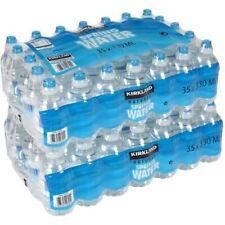 Kirkland Signature Natural Spring Water, 70 x 330ml Sports Cap Bottles (Pack of
