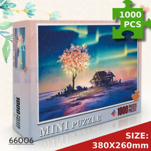 Jigsaw Puzzles 1000 Piece Fantasy Lamp Tree for Adult Kids Puzzle Home Decor