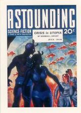 Astounding Science Fiction Magazine Robert Heinlein Card RH2