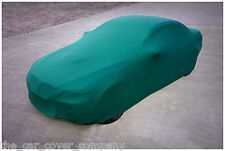 Super Soft Stretch Indoor Car Cover-Personalised Gift-Universal Fit-Green,Medium