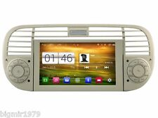 "6.2"" Android 4.4 Car DVD Player GPS Radio Stereo Navi for Fiat 500 2007-2015"