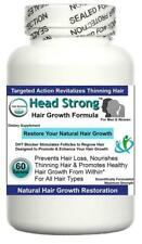 Hair Growth Support Tablets Head Strong Prevents Thinning Weak Thicker Volume x1