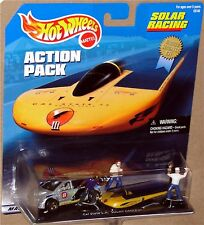 SOLAR RACING - RACING WITH THE SUN!, Hot Wheels Action Pack, 1:64, NEW on Card!
