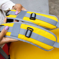 Adjustable Waterproof Dry Bag Pouch Pad Shoulder Belt Strap Cushion Yellow