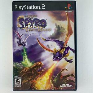 Legend of Spyro: Dawn of the Dragon (Sony PlayStation 2, 2008) with manual