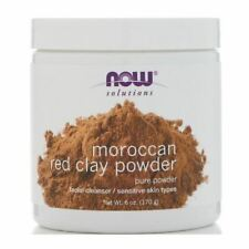 NOW Moroccan Red Clay Powder 6 oz