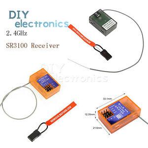 SR3100 3CH Receiver For Spektrum DSM2 RC Car, DX3C DX3E DX3S DX4S US
