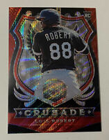 2020 Panini Chronicles Crusade LUIS ROBERT Ruby Red Wave RC /199 Non Auto Read