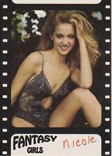 1992 Imagine Fantasy Girls Promo Card #99 - Nicole