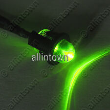 "Green LED Pilot Light Dash Signal Indicator Warning 47"" Mood Accent"