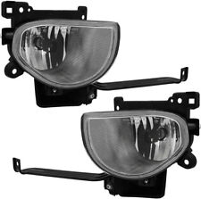 FITS ACURA TL 2009-2010 RIGHT LEFT FOG LIGHTS DRIVING LAMPS BUMPER PAIR SET