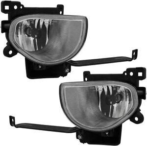 FITS ACURA TL 2009-2011 RIGHT LEFT FOG LIGHTS DRIVING LAMPS BUMPER PAIR SET