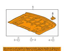 Chevrolet GM OEM 16-18 Camaro Splash Shields-Lower Deflector 23329708