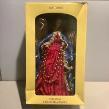 More details for past times christmas byzantine angel tree topper beautiful condition with origin