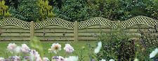 Fence Panels, Omega / Santiago 120cm x 180cm, Shaped Top, Pressure Treated