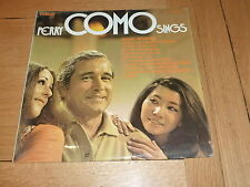 PERRY COMO SINGS - 1971 10-track vinyl LP