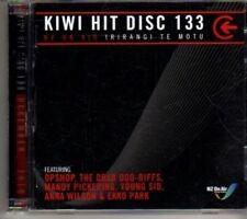 (DH24) Kiwi Hit Disc 133, 32 tracks various artists - 2010 double DJ CD