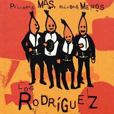 Audio CD Palabras Mas Palabras Menos - Los Rodriguez - Free Shipping