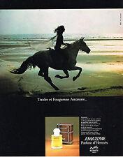PUBLICITE   1978    AMAZONE  parfum d'HERMES