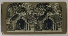 Antique Stereoview Photo President McKinleys Tomb Canton Ohio 1902
