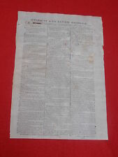 JOURNAL SUPPLEMENT A LA GAZETTE NATIONALE N° 321 VENDREDI 16 NOVEMBRE 1792