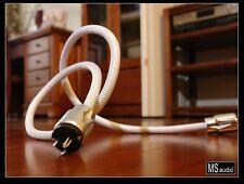MS Audio Pure Silver Litz Design Power Cord US Version