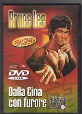dvd DALLA CINA CON FURORE Bruce LEE REMASTERED