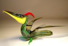 "Blown Glass ""Murano"" Art Figurine Dinosaur PTERODACTYL"