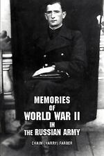 Memories of World War II in the Russian Army (Paperback or Softback)