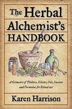 Herbal Alchemist's Handbook : A Grimoire Book ~ Wiccan Pagan Supply