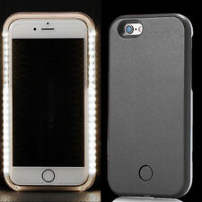 LED Light Up Selfie New Phone Cover Case Back Shell For Iphone 5s 6s 6/7/7 Plus