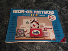 Iron On Patterns All Purpose 97 Designs by Plaid