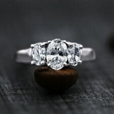 14k White Gold Engagement Ring With 1.65ct Of Total Diamond Weight