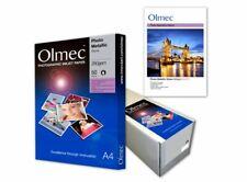 Olmec 260gsm Photo Metallic Gloss Inkjet Paper A4 - 50 Sheets OLM71A4 inc VAT