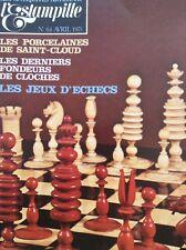 L'Estampille French Art Magazine Les Jeux D'Echecs Avril 1975 011718nonrh