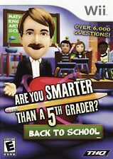 Are You Smarter Than a 5th Grader Back to School Wii - LN