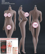 "TBLeague S09C 1/6 Female Phicen Figure Body Suntan Large Bust Toy for 12"" Action"